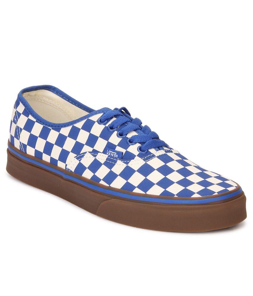 Vans Authentic Blue Casual Shoes