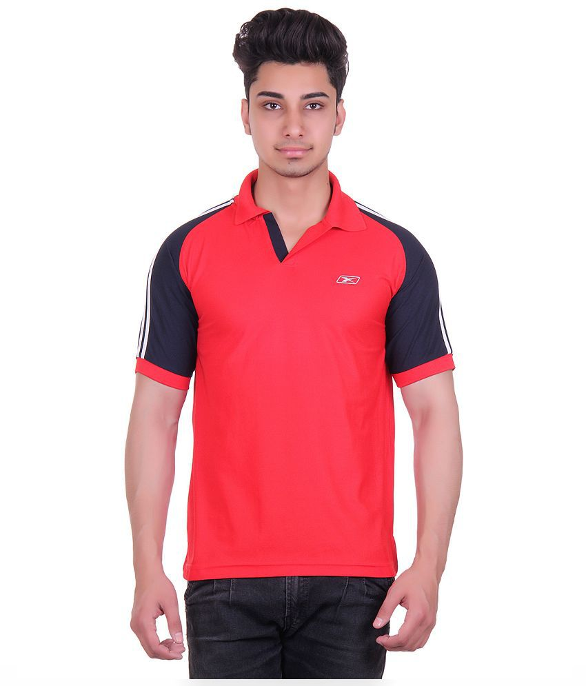 EX10 Red Polos