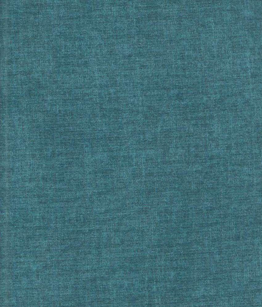 Micasa Blue Plain Sofa Fabric