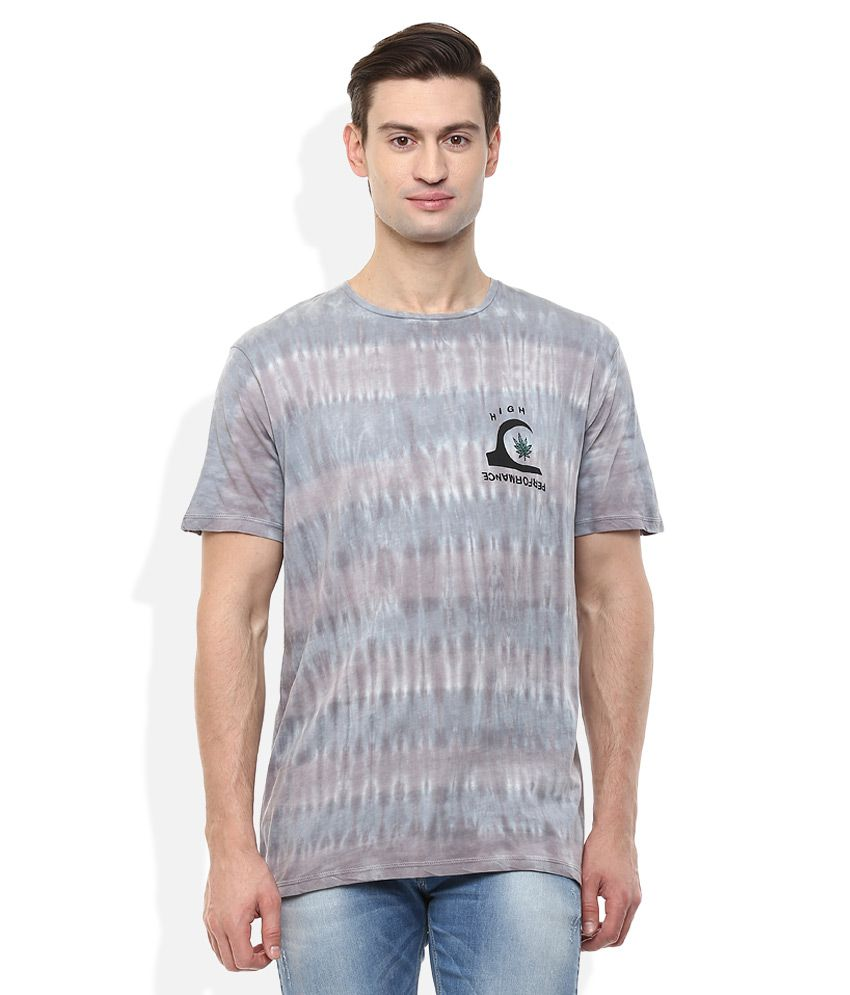 Quiksilver Grey T-Shirt