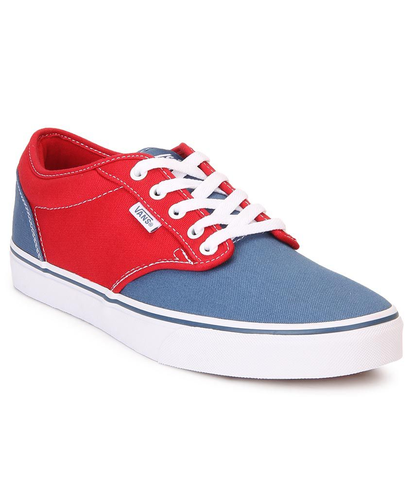 67be29f720e Vans Atwood Red Canvas Casual Shoes - Buy Vans Atwood Red Canvas Casual  Shoes Online at Best Prices in India on Snapdeal