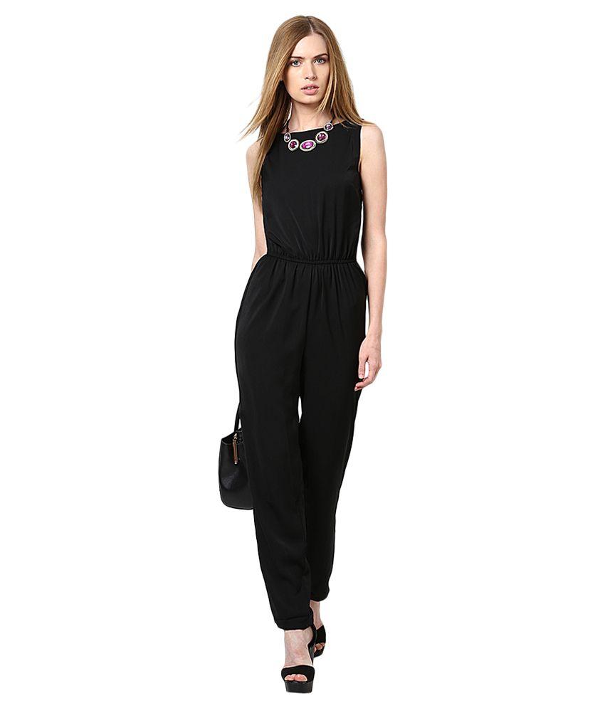 size 40 ab2fd 299c5 Vero Moda Black Jumpsuit