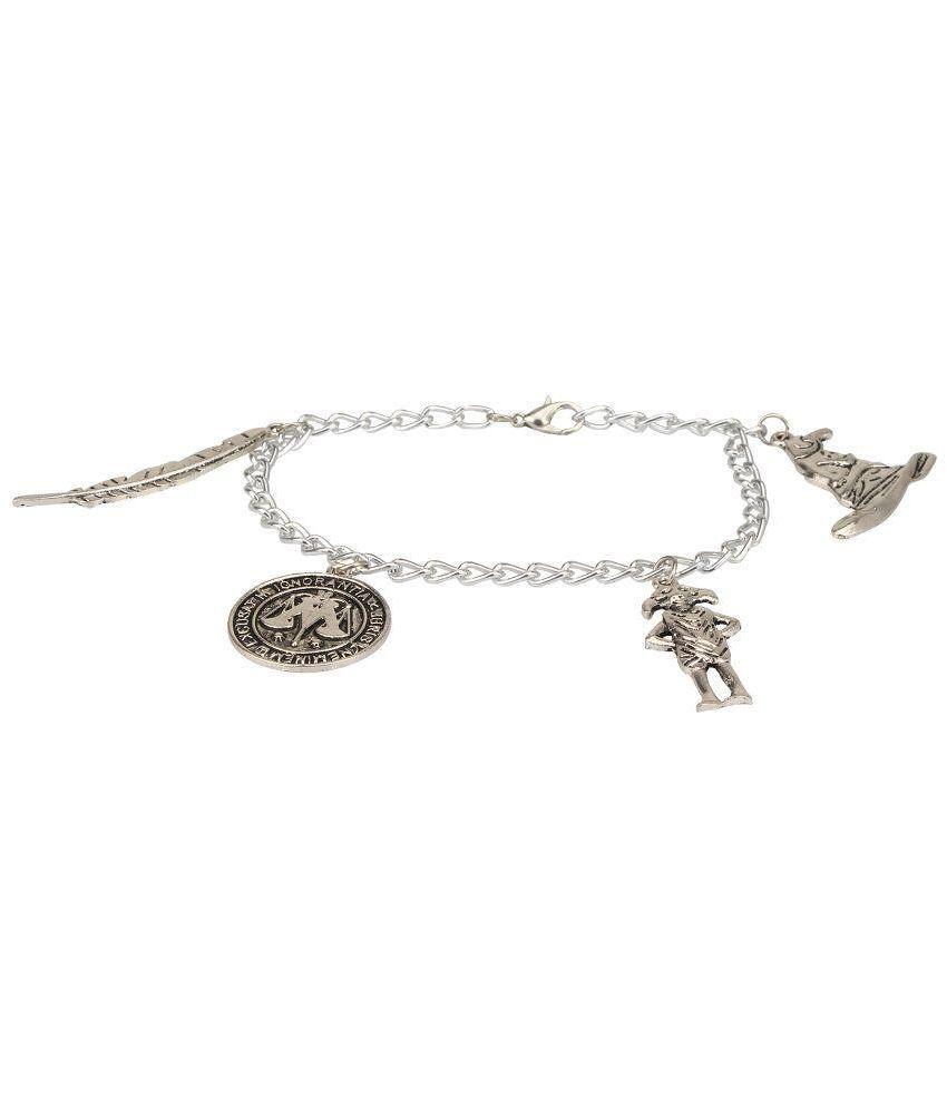 Access-O-Risingg Silver Alloy Bracelet