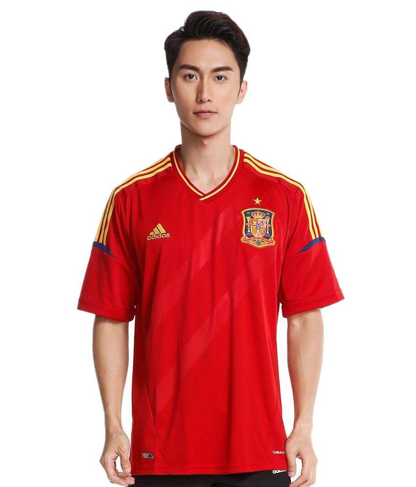 Adidas Red T Shirts