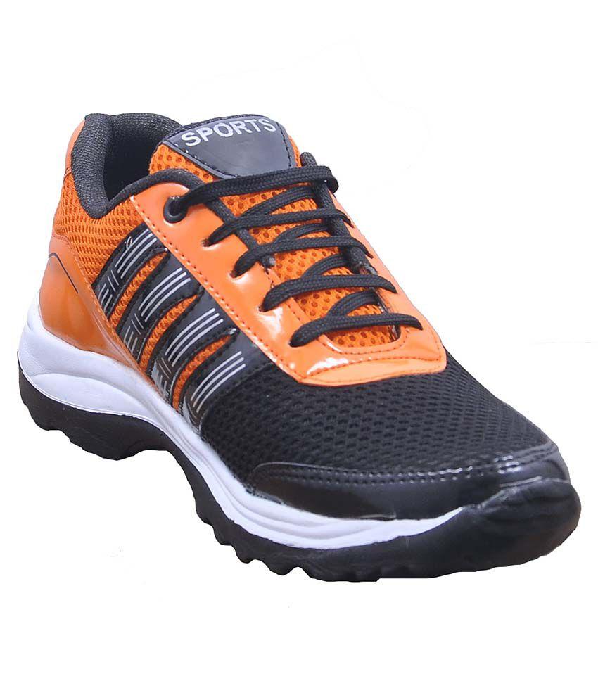 Fashy Orange Running Shoes
