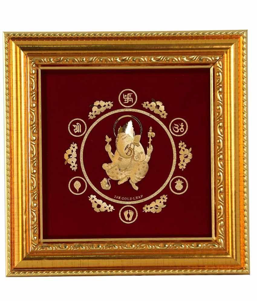 3035b9a19fe ... 5x7 Borsheims. Lm Goldline 24kt Gold Plated Wooden Ganesha Frame