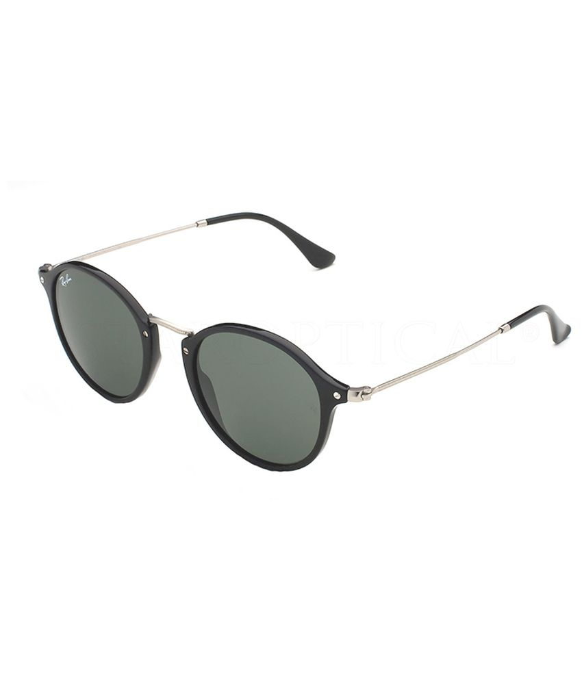 8564fe4c207b Ray-Ban Green Round Oversized Sunglasses (RB2447 901 49-21) - Buy Ray-Ban  Green Round Oversized Sunglasses (RB2447 901 49-21) Online at Low Price -  Snapdeal