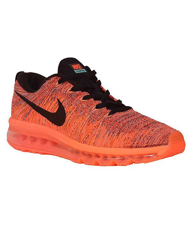 new arrival b277b 27cd1 Nike Air Max Orange Running Shoes - Buy Nike Air Max Orange Running Shoes  Online at Best Prices in India on Snapdeal