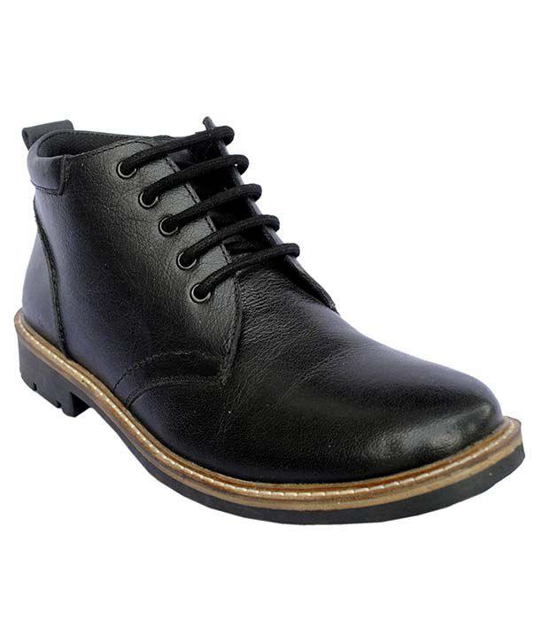 Unique Black Boots