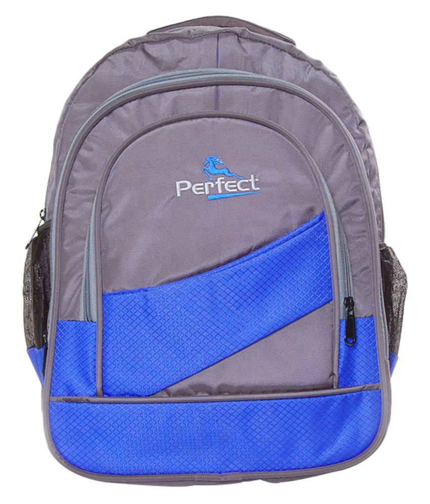 BBC Perfect Blue Polyester Laptop Bag