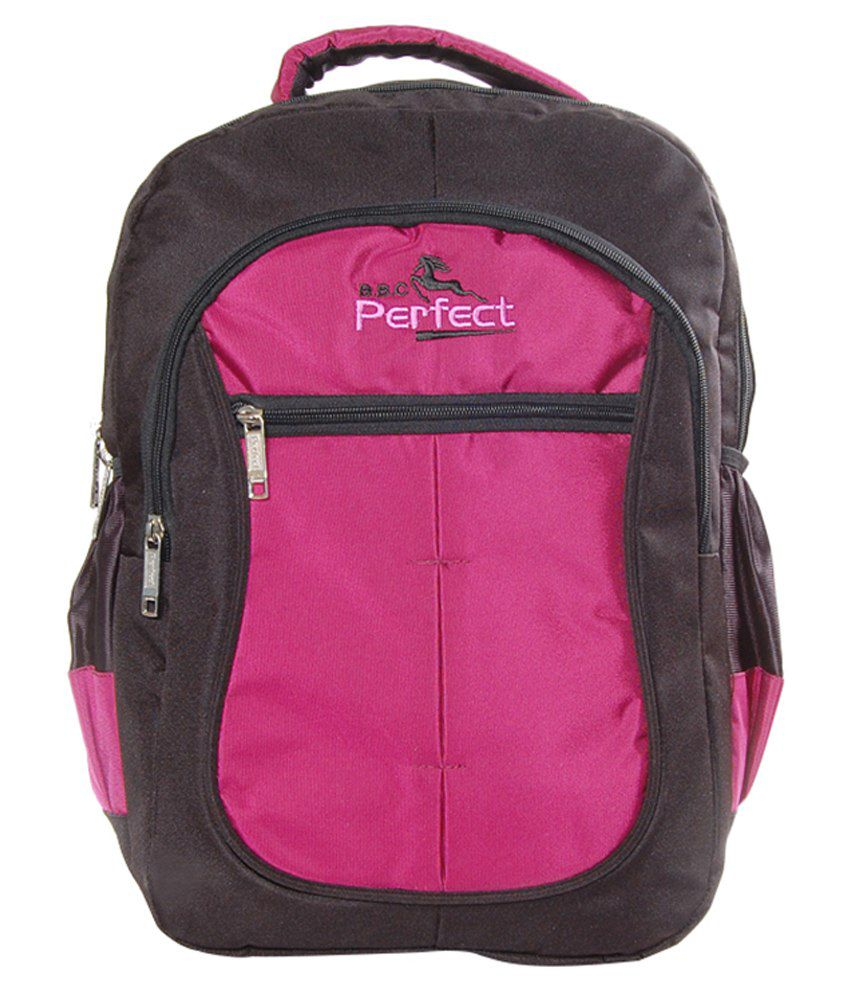 BBC Perfect Pink Polyester Laptop Bag