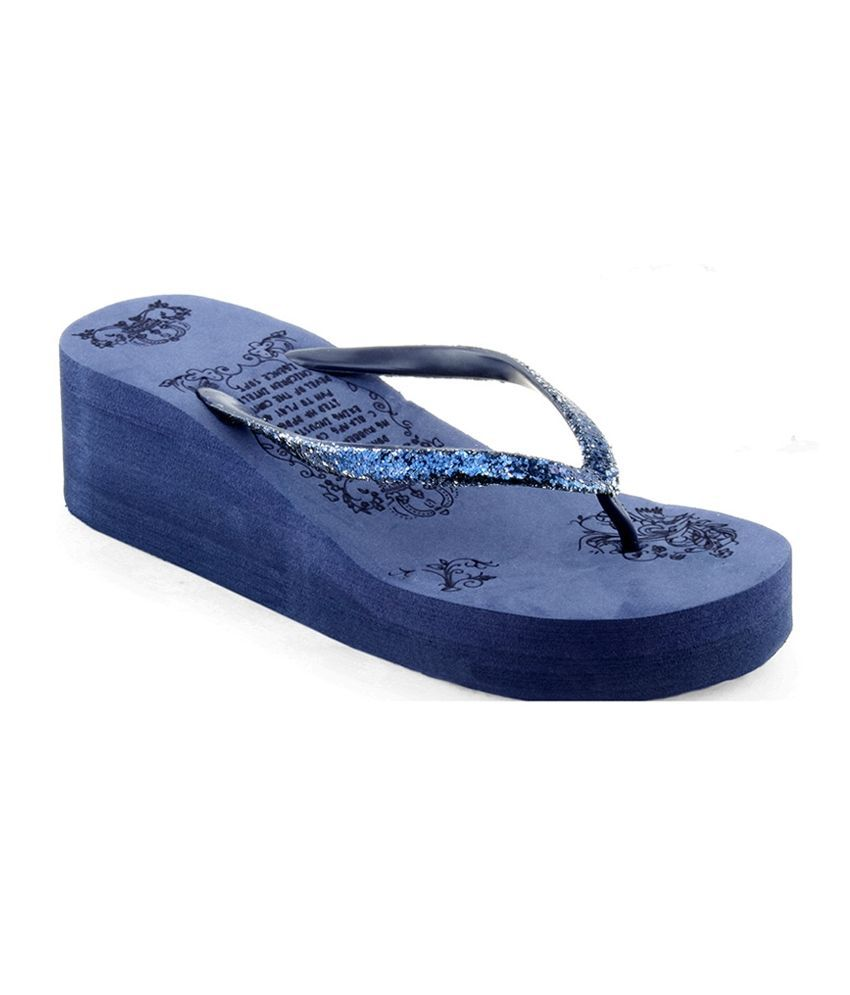 Sierra Club Blue Flip Flops