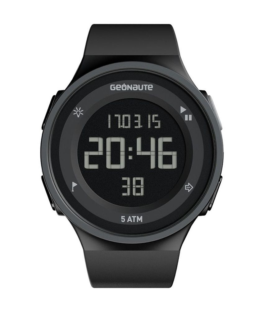 af83d1f85a6d8 GEONAUTE W500 M Swip Digital Watch By Decathlon: Buy Online at Best Price  on Snapdeal