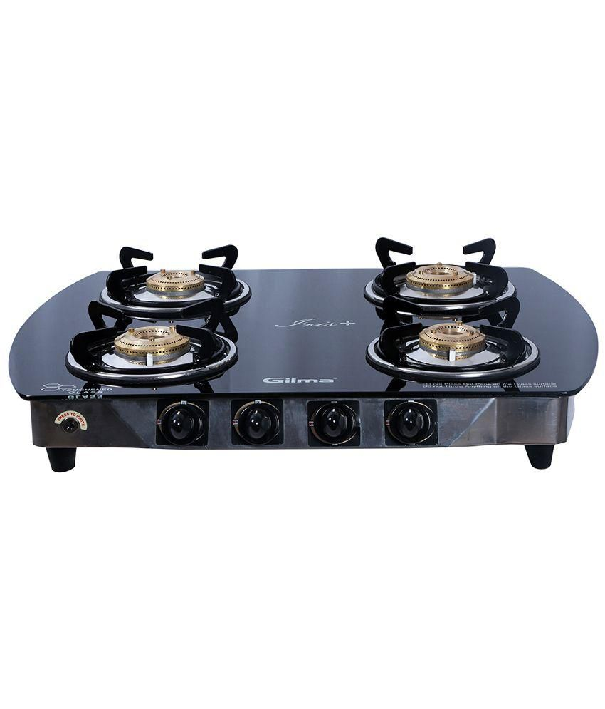 Gilma Iris Plus Auto Ignition Gas Cooktop (4 Burner)