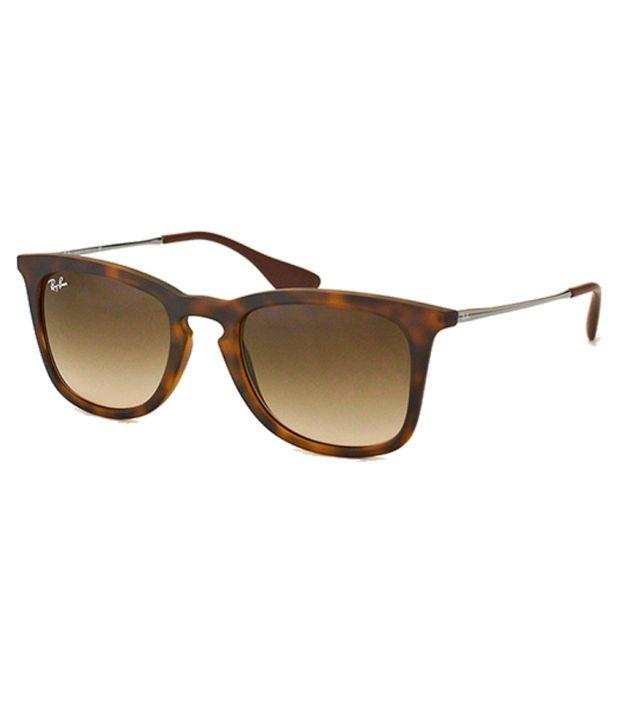Ray Ban Brown Wayfarer Sunglasses