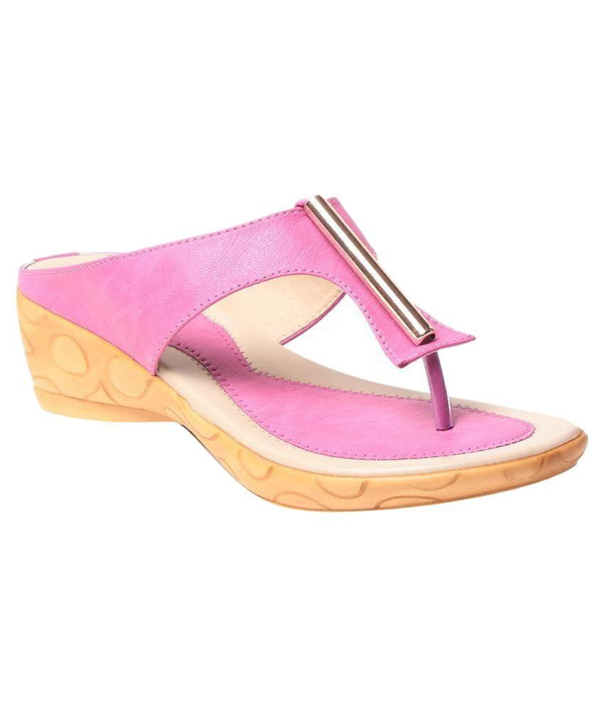 MSC Pink Slippers