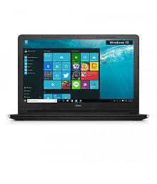 Dell Inspiron 3558 Notebook (Y565501HIN9) (5th Gen Intel Core i3- 4GB RAM- 500GB HDD- 39.62 cm(15.6)- Windows 10) (Black)