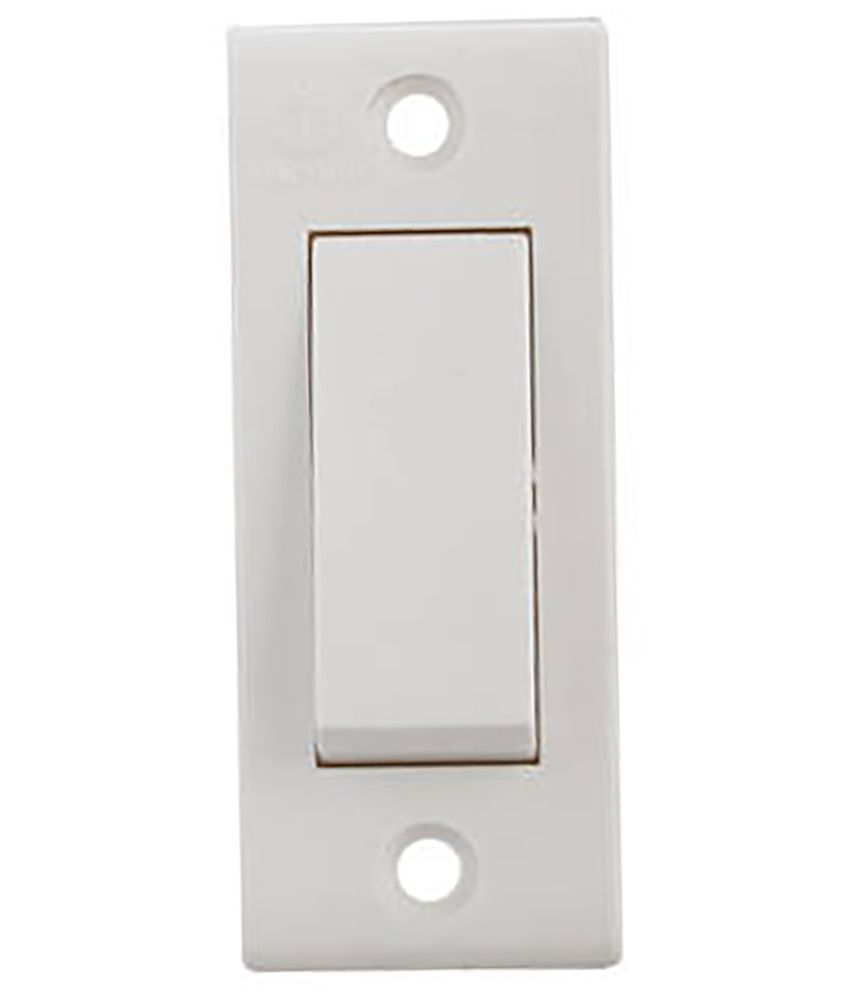 buy anchor penta white one way switch pack of 40 online at low