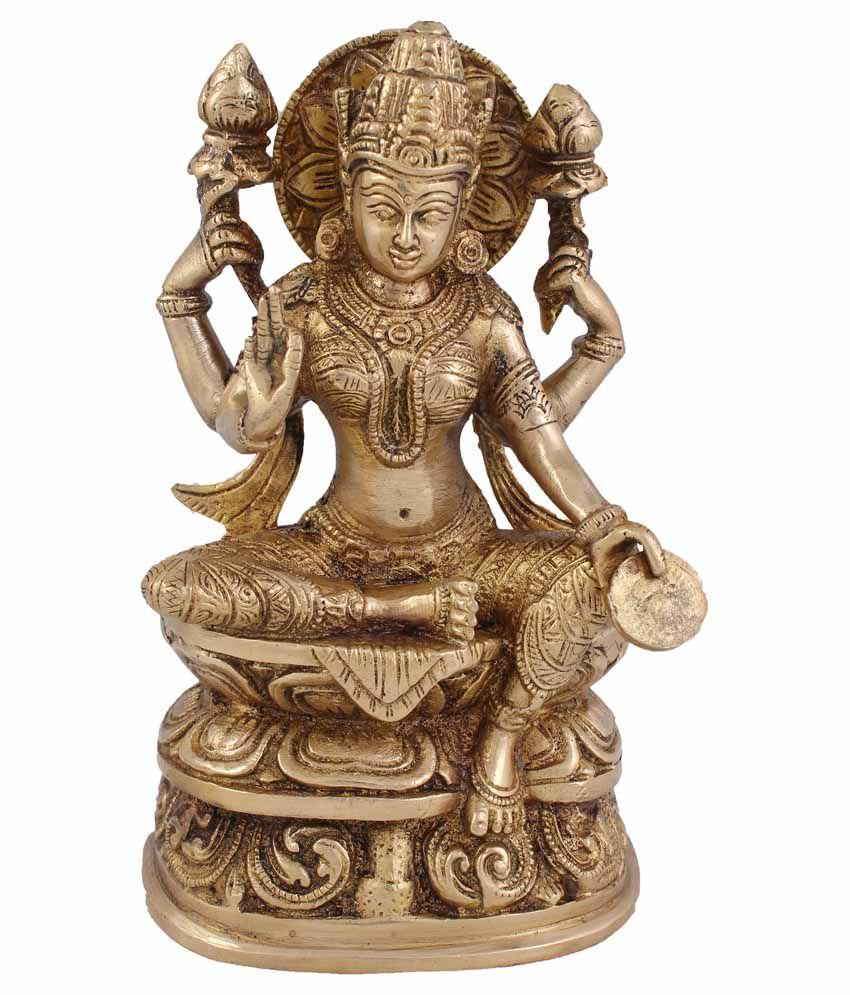 Arihant Craft Laxmi Brass Idol