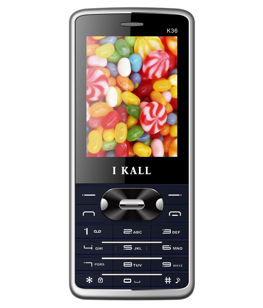 I Kall K36 ( Below 256 MB , Blue )