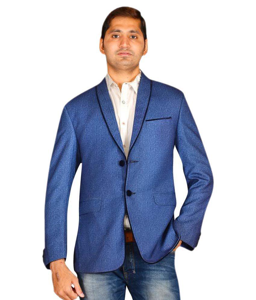 MD Fashion Blue Party Blazers