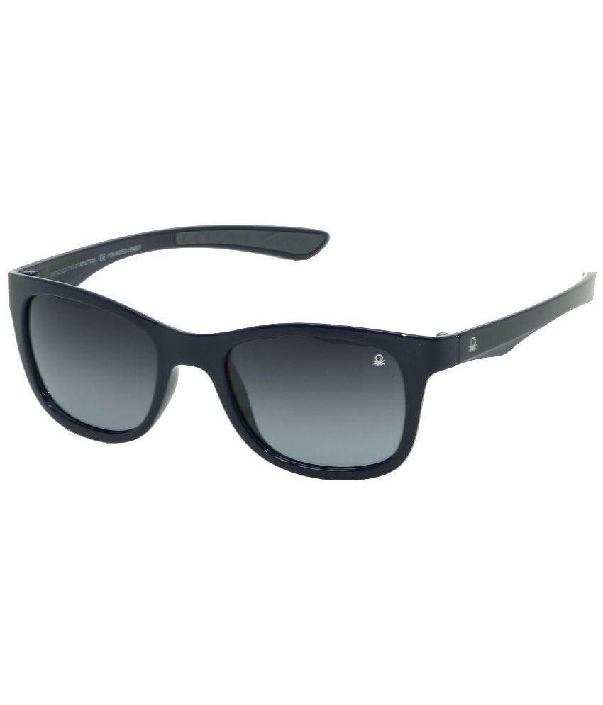 UCB Black Wayfarer Sunglasses ( UCB-536-I4 )