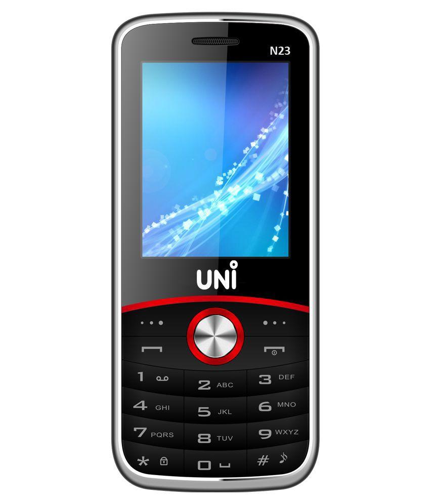 Uni N23 ( Below 256 MB , Black )
