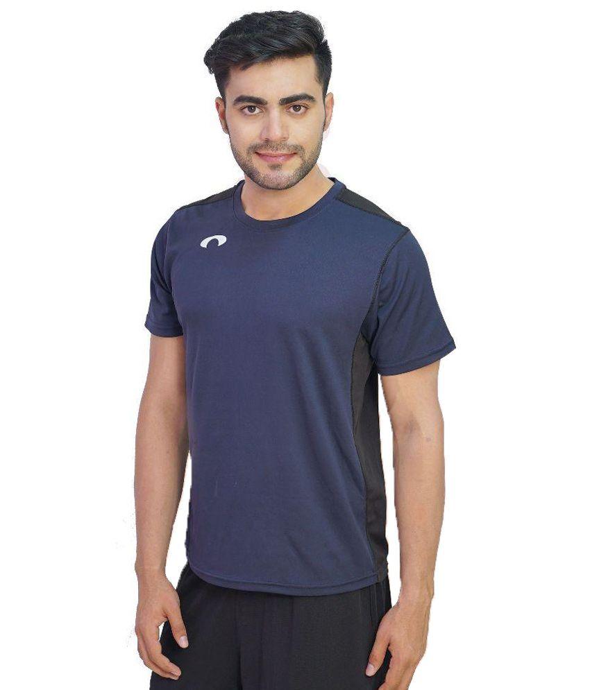 Arcley Blue Round T Shirt