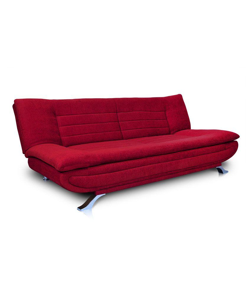 dolphins elite fabric sofa cum bed buy dolphins elite fabric sofa rh snapdeal com