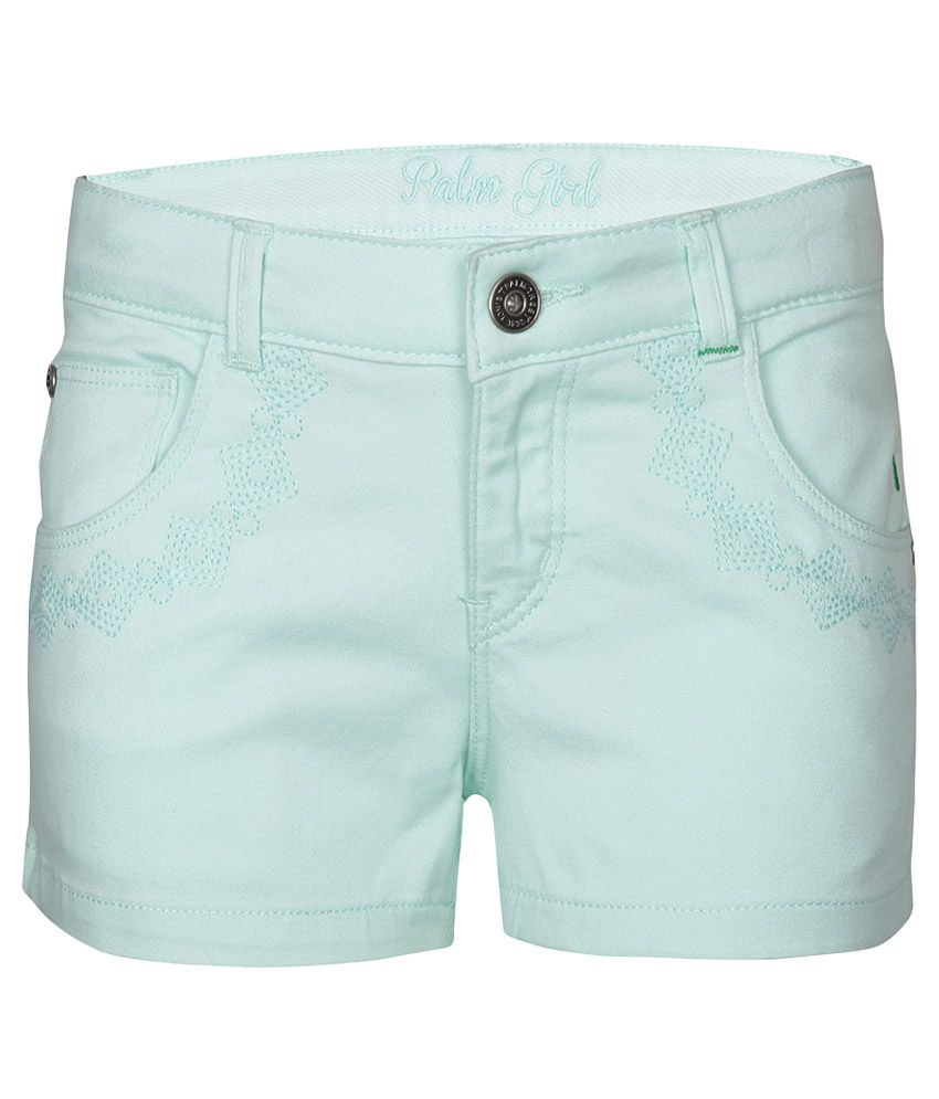 Gini & Jony Green Shorts