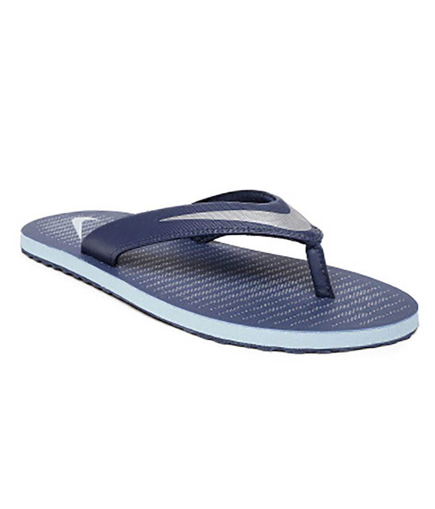 sports shoes 6b125 c345a Nike Blue Slippers Art N833808400