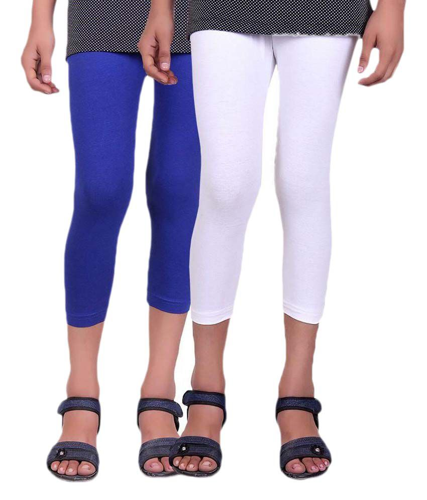 Alisha Multicolour Capri - Pack of 2