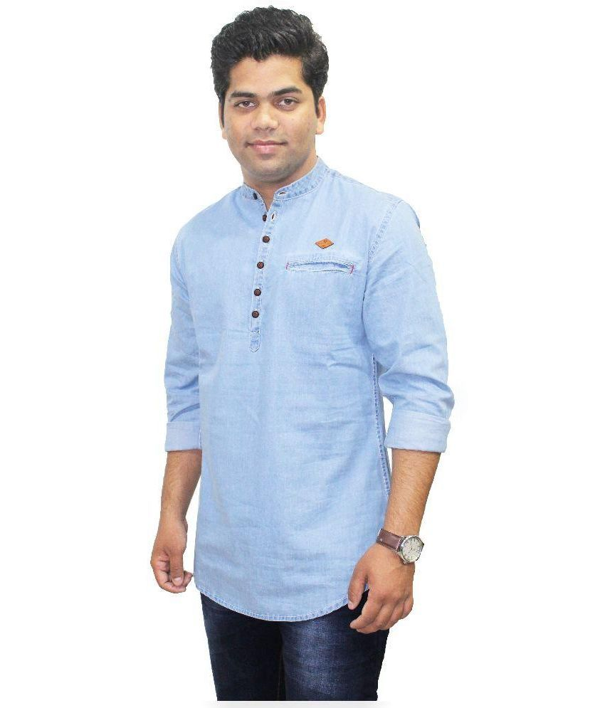 c12f3bc6dbd Kuons Avenue Blue Kurtas - Buy Kuons Avenue Blue Kurtas Online at Low Price  in India - Snapdeal