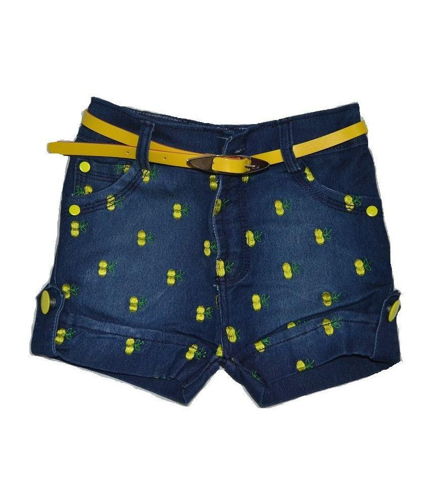 Minar Blue Shorts