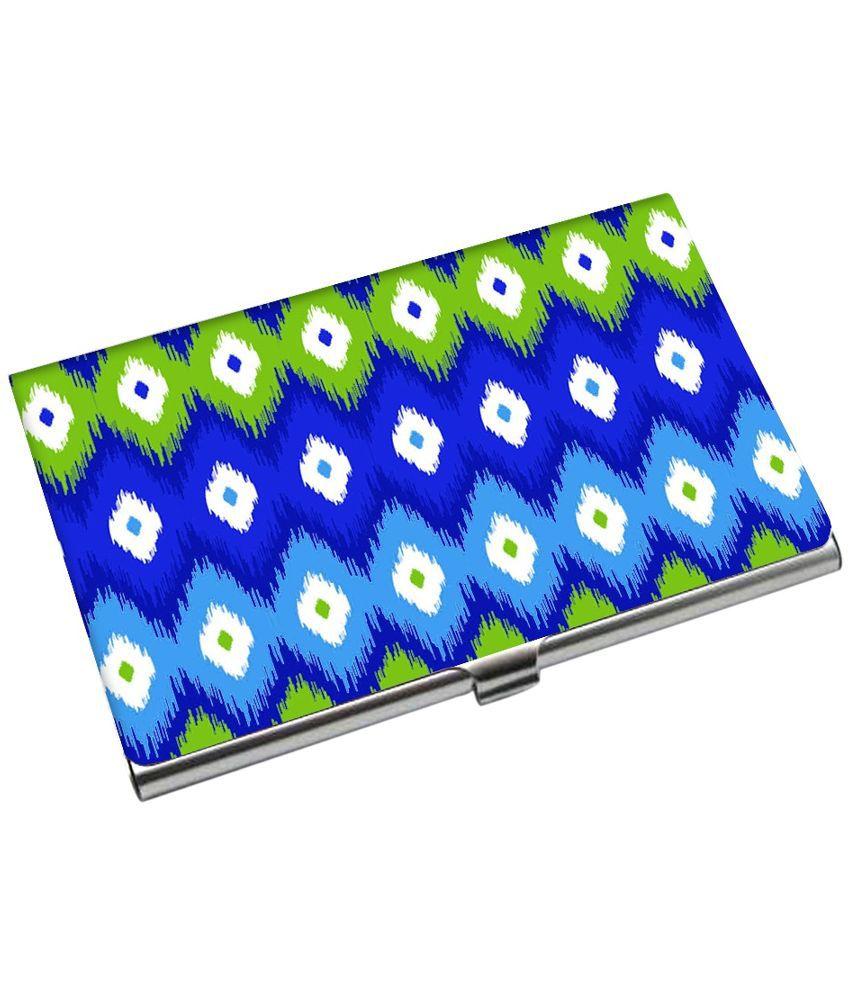 Kolorobia Multicolour Metal Card Holder for Men