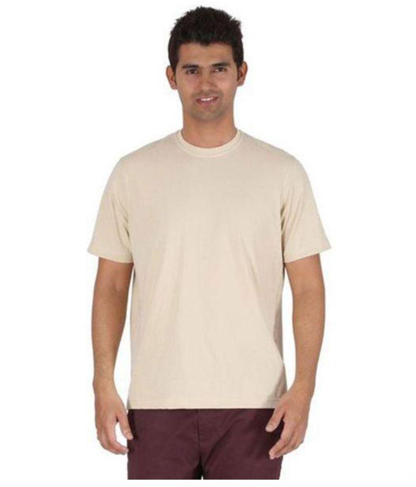 Sri Boga Tex Beige Round T Shirt