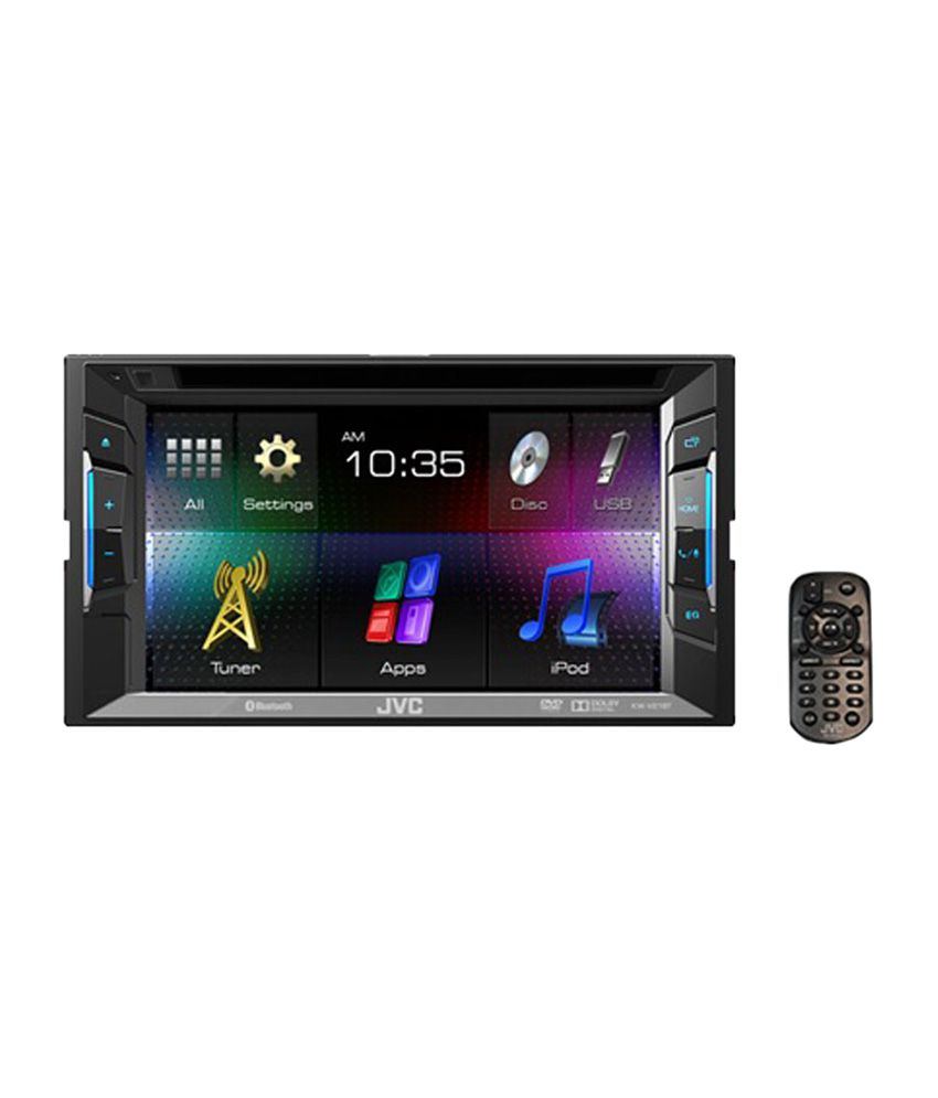JVC - KW-v220bt Dvd/cd/usb Double Din Touch Panel Monitor ...