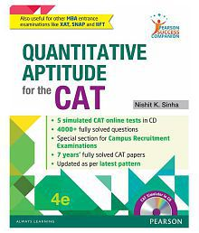 Quantitative Aptitude For The Cat 4/e Paperback English 2016