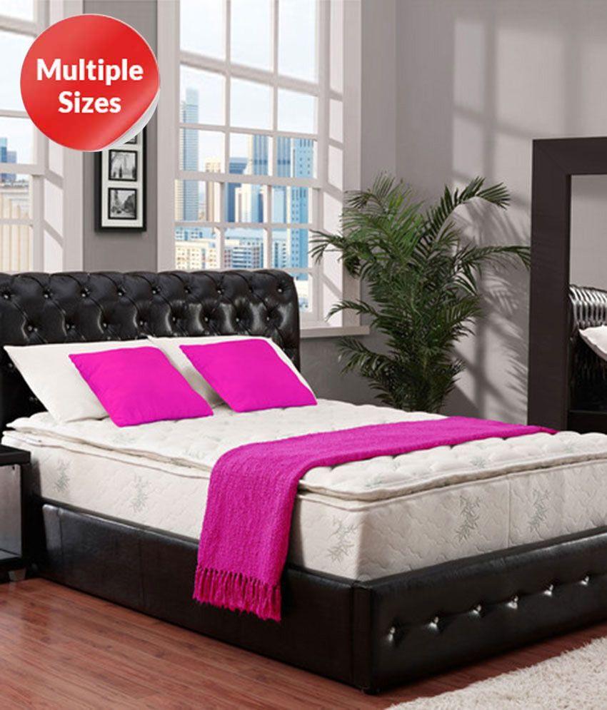 dreamzee pocket spring 8 inch pillow top mattress buy dreamzee