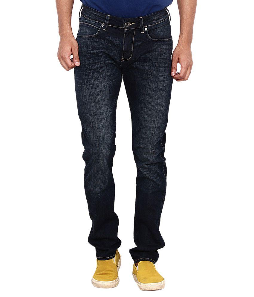 Wrangler Blue Skinny Fit Jeans