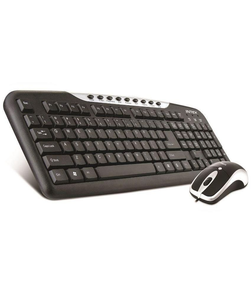 Wired Keyboard And Mouse Combo Price : intex duo313 black usb wired keyboard mouse combo buy intex duo313 black usb wired keyboard ~ Russianpoet.info Haus und Dekorationen
