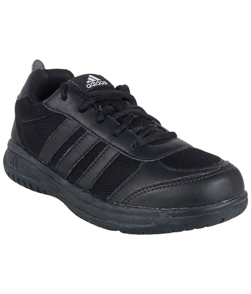 daa8fcfc05b9 Adidas Black Sport shoes For Kids Price in India- Buy Adidas Black Sport  shoes For Kids Online at Snapdeal