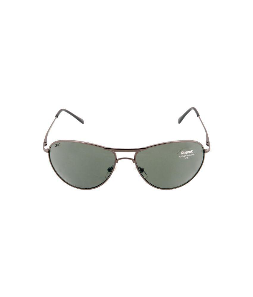 725609f195e7 Reebok Green Aviator Sunglasses ( B2015D ) - Buy Reebok Green ...