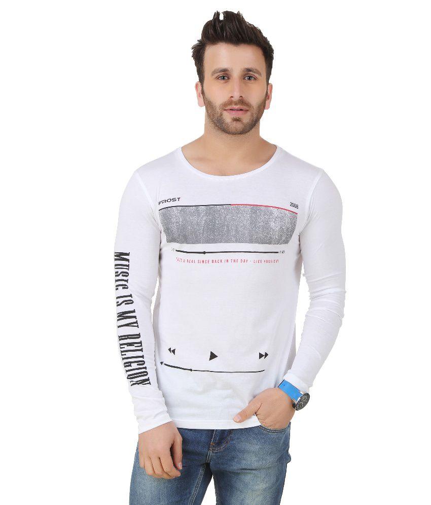 Frost White Round T Shirt