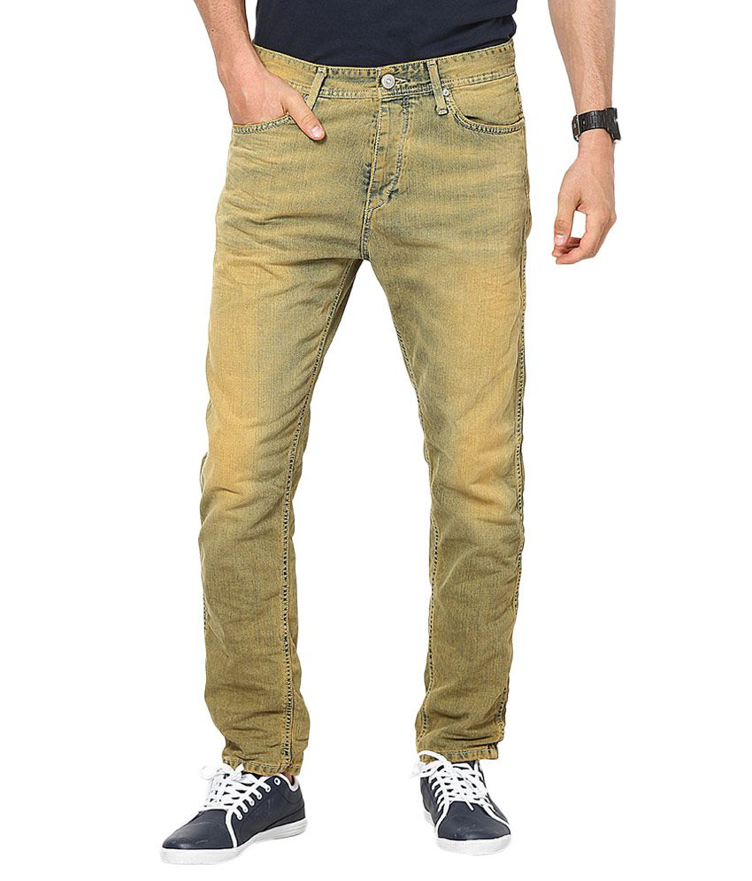 Jack & Jones Orange Anti Fit Jeans