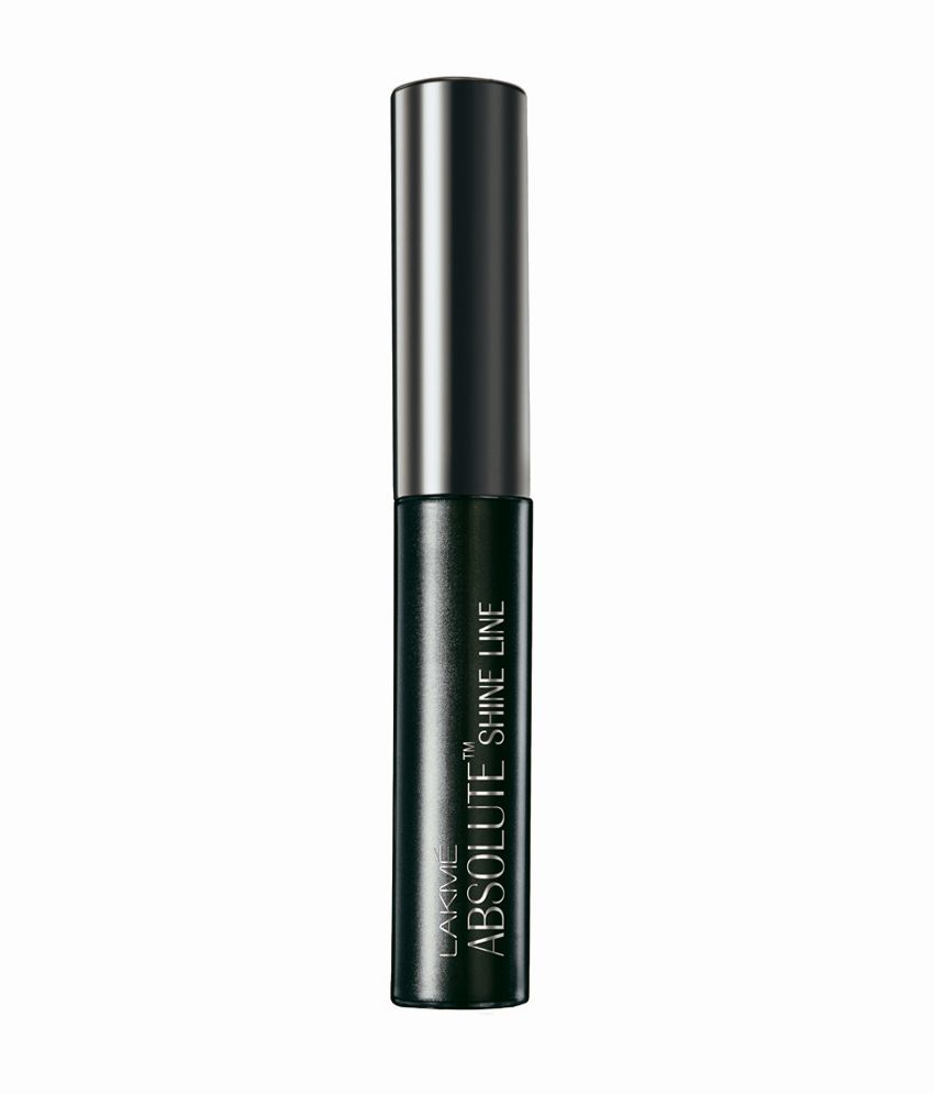 Lakme Absolute Shine Liquid Eye Liner, Black, 4.5 ml: Buy