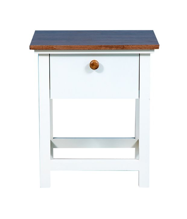 Forzza Dallas Solid Wood Nightstand
