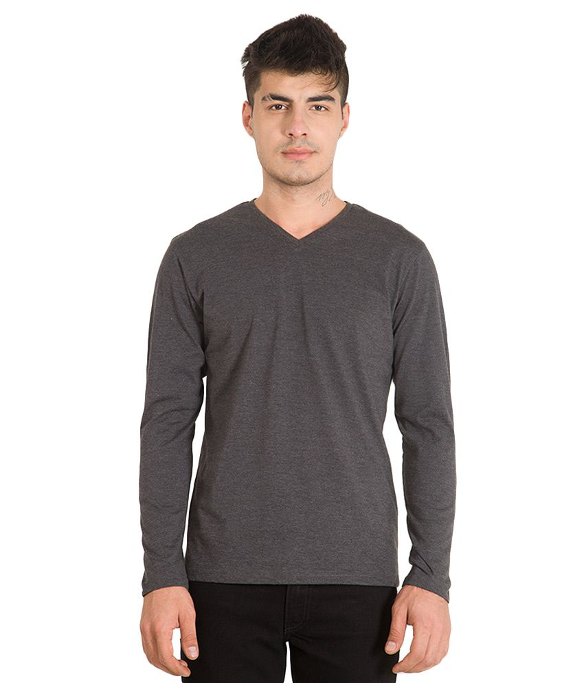 Highlander Black V-Neck T Shirt