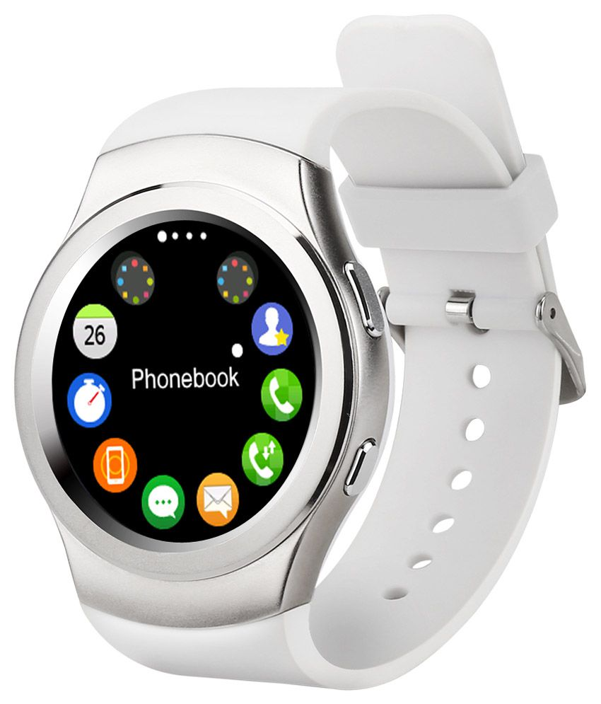 Wearable Smartwatches Online At: Epresent G3 Smart Watches White