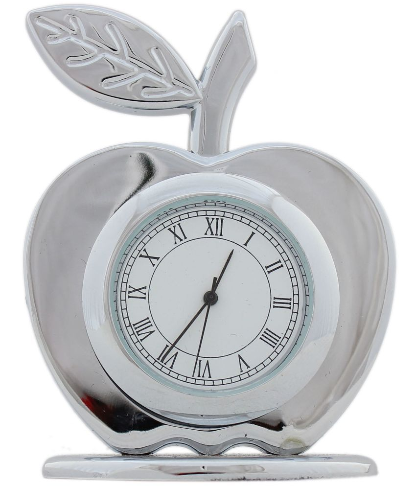 Superior Tootpado Glossy Metal Table Clock ...